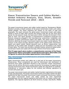 Power Transmission Towers and Cables Market Research Report