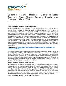 Underfill Material Market Research Report and Forecast up to 2024