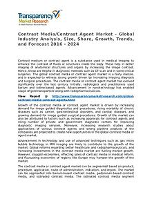 Contrast Media/Contrast Agent Market Research Report and Forecast