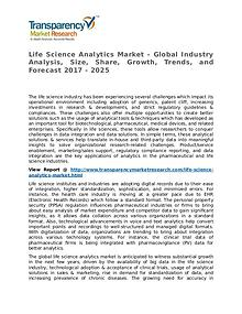 Life Science Analytics Market Research Report and Forecast up to 2025