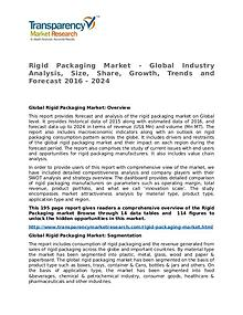Rigid Packaging Market Research Report and Forecast up to 2024