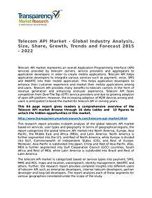 Telecom API Market Research Report and Forecast up to 2022