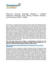 Thermal Energy Storage Market Research Report and Forecast up to 2020