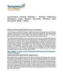 Laminated Labels Market Research Report and Forecast up to 2024