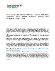 Rear Axle Commodity Market Research Report and Forecast up to 2020