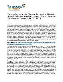 Thermoform Plastic Pharma Packaging Market Research Report
