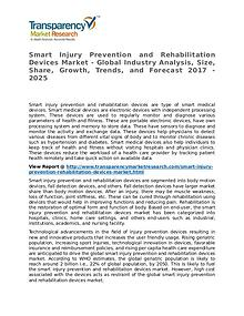Smart Injury Prevention and Rehabilitation Devices Market Research