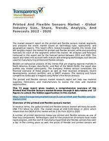 Printed And Flexible Sensors Market Research Report and Forecast