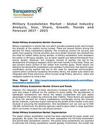 Military Exoskeleton Market Research Report and Forecast up to 2025