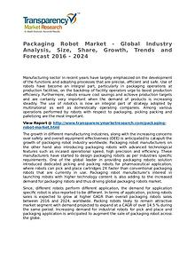 Packaging Robot Market Research Report and Forecast up to 2024