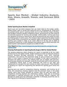 Sports Gun Market Research Report and Forecast up to 2024