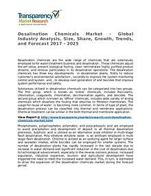 Desalination Chemicals Market Research Report and Forecast up to 2025