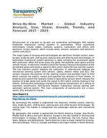 Drive-By-Wire Market Research Report and Forecast up to 2025