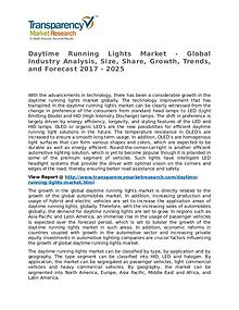 Daytime Running Lights Market Research Report and Forecast up to 2025