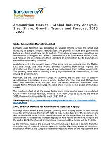 Ammunition Market Research Report and Forecast up to 2021