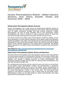 Carbon Thermoplastics Market Research Report and Forecast up to 2024