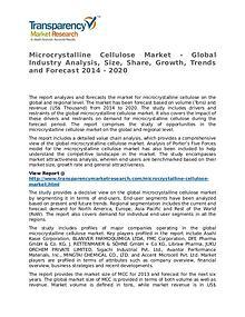 Microcrystalline Cellulose Market 2014