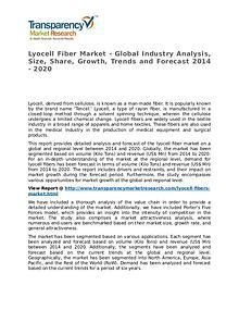 Lyocell Fiber Market 2014 Share, Trend, Segmentation and Forecast