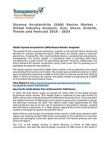Styrene Acrylonitrile (SAN) Resins Market 2016