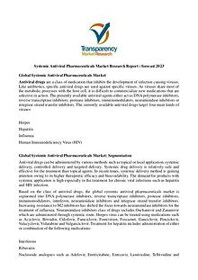 Systemic Antiviral Pharmaceuticals Market