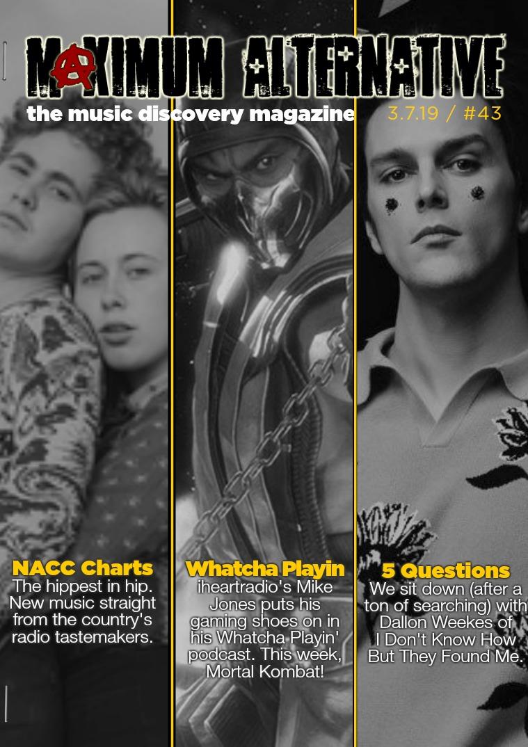 Maximum Alternative Issue 43!
