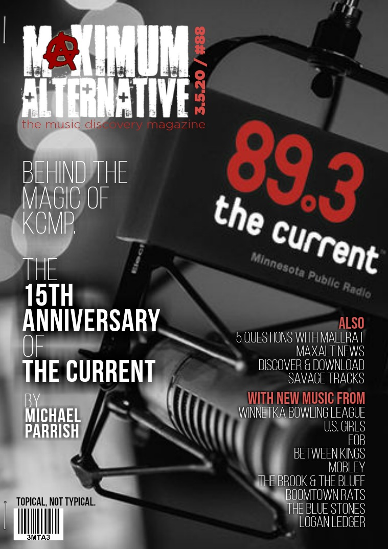 Maximum Alternative Issue 88 The KCMP 15th Anniversary!