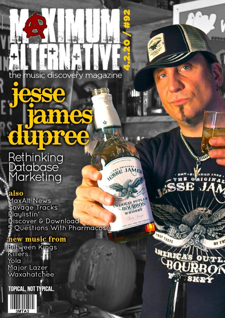 Issue 92 Jesse James Dupree & Mixer Radio