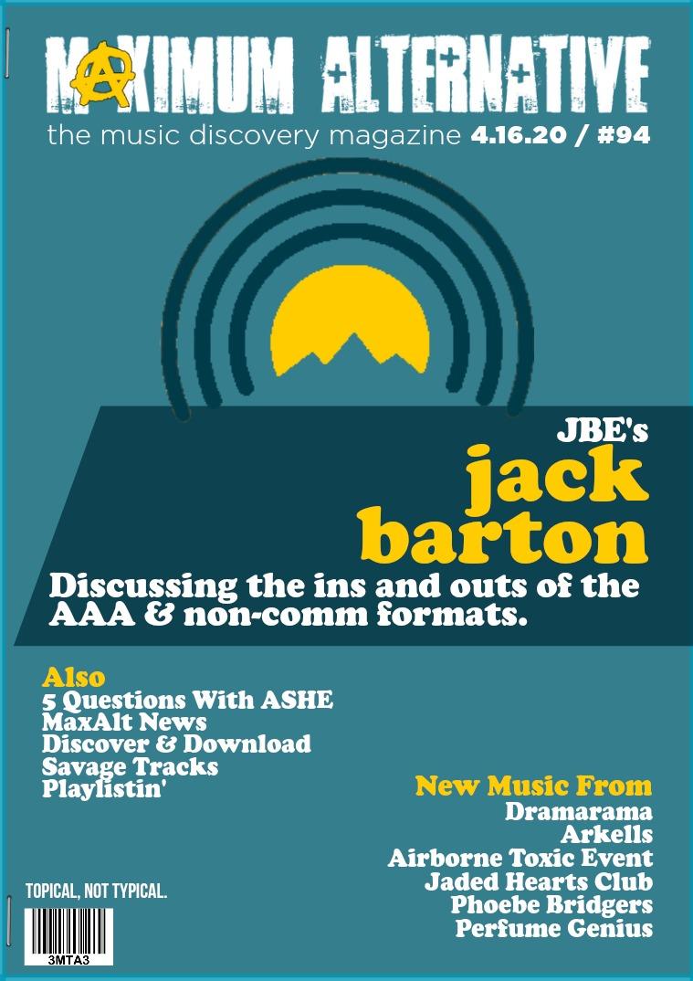 Maximum Alternative Issue 94 JBE AAA Summit