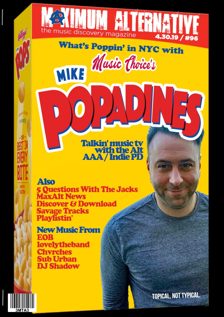 Issue 96 Mike Popadines of Music Choice