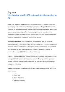 FIN 571 Individual Signature Assignment