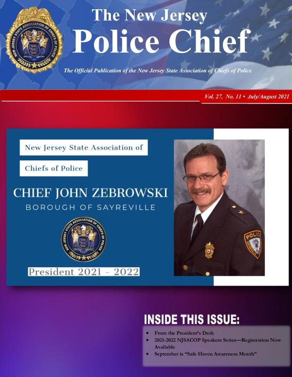 The NJ Police Chief Magazine - April 2017 Edition
