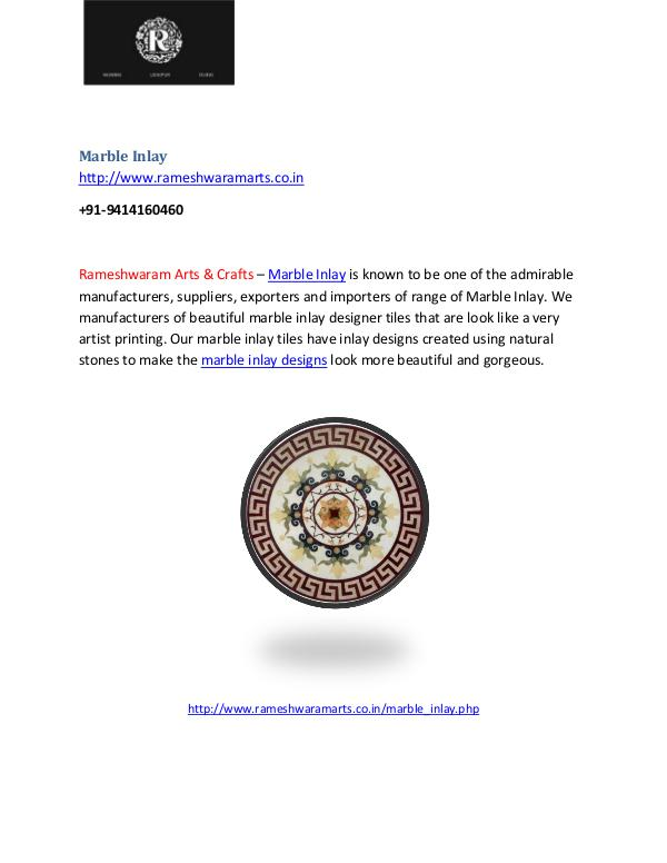 Marble Inlay Marble  Inlay design