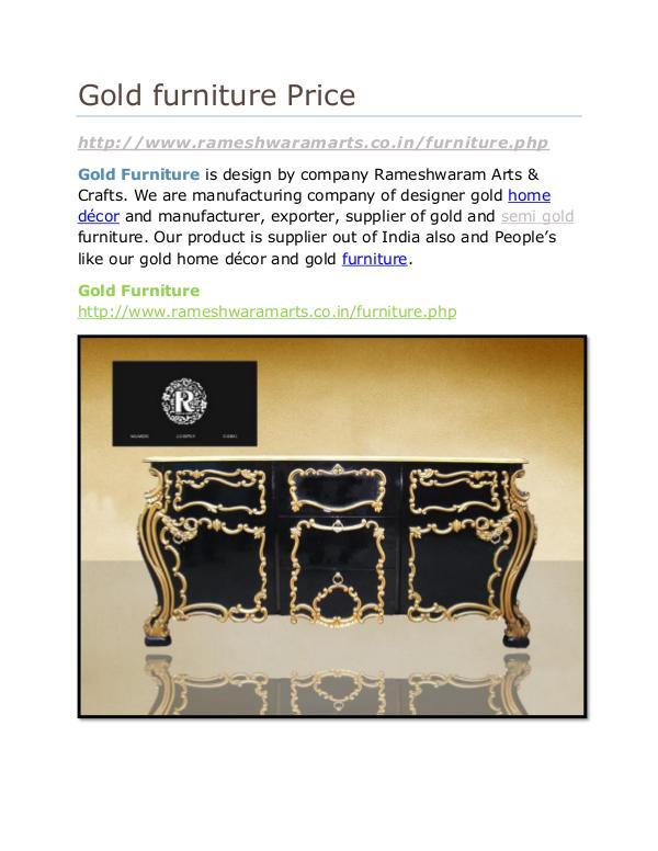 Gold furniture Price Gold furniture Price