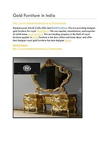 Gold Furniture Store