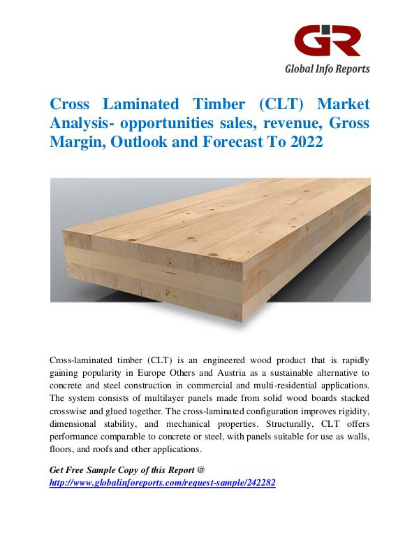 Global Info Research- market Research Reports Cross Laminated Timber (CLT) Market