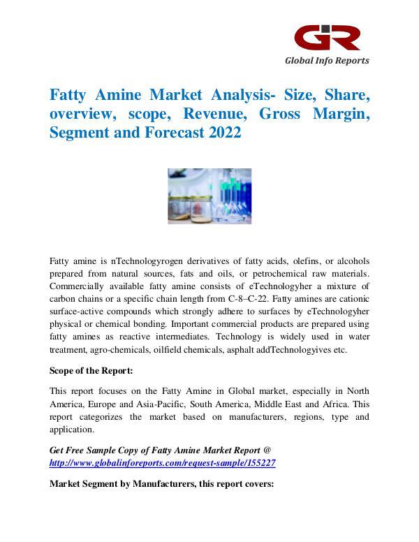 Fatty Amine Market