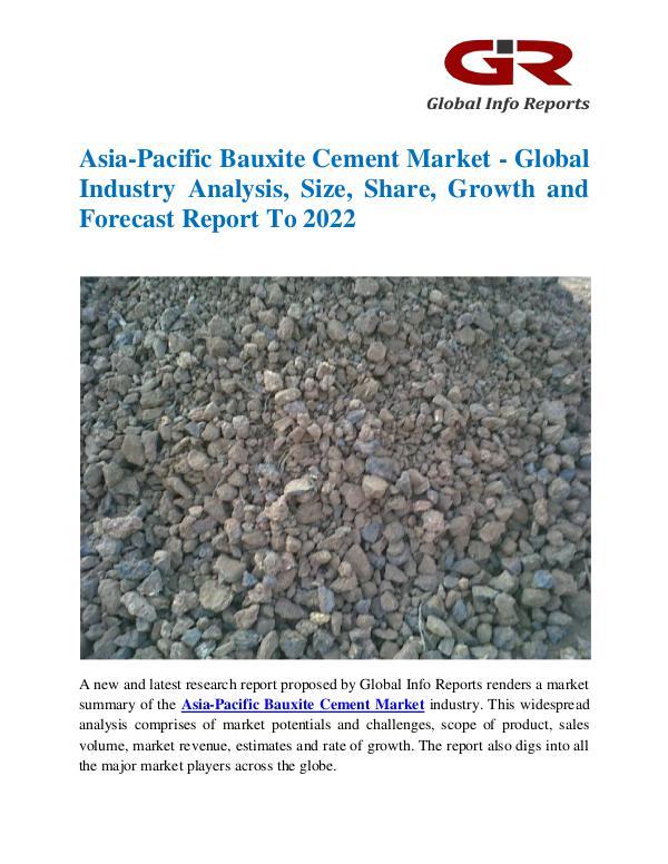 Asia-Pacific Bauxite Cement Market
