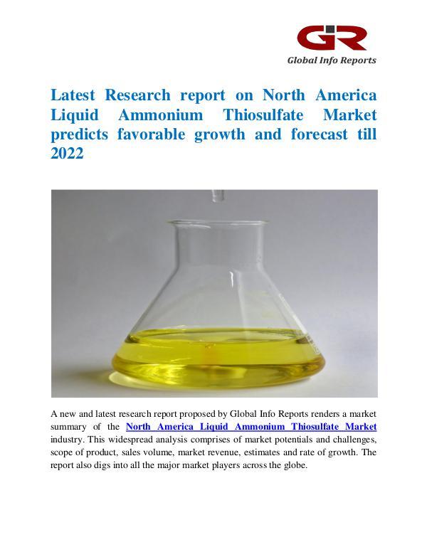 North America Liquid Ammonium Thiosulfate Market