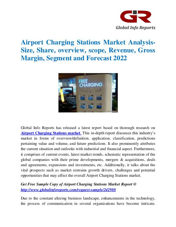 Global Airport Charging Stations Market