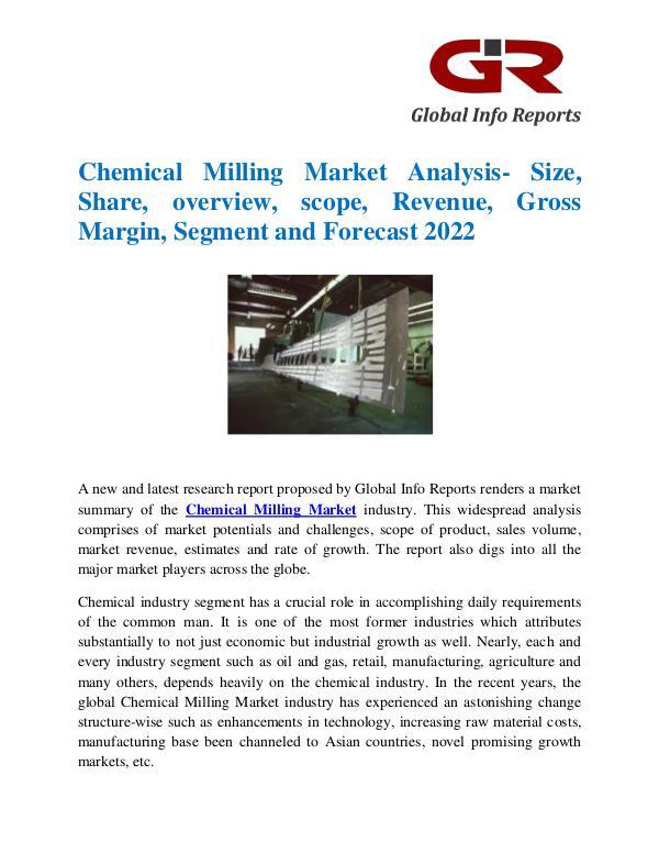 Global Chemical Milling Market