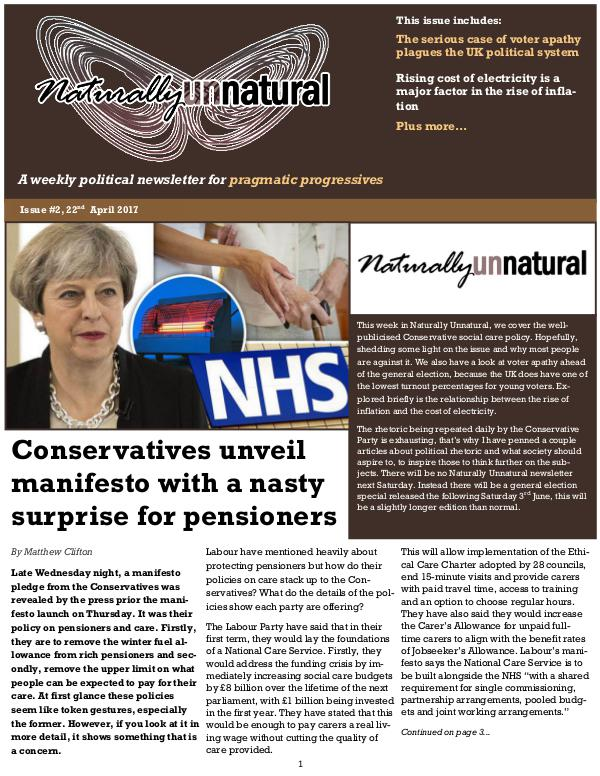 Issue #6 20th May 2017