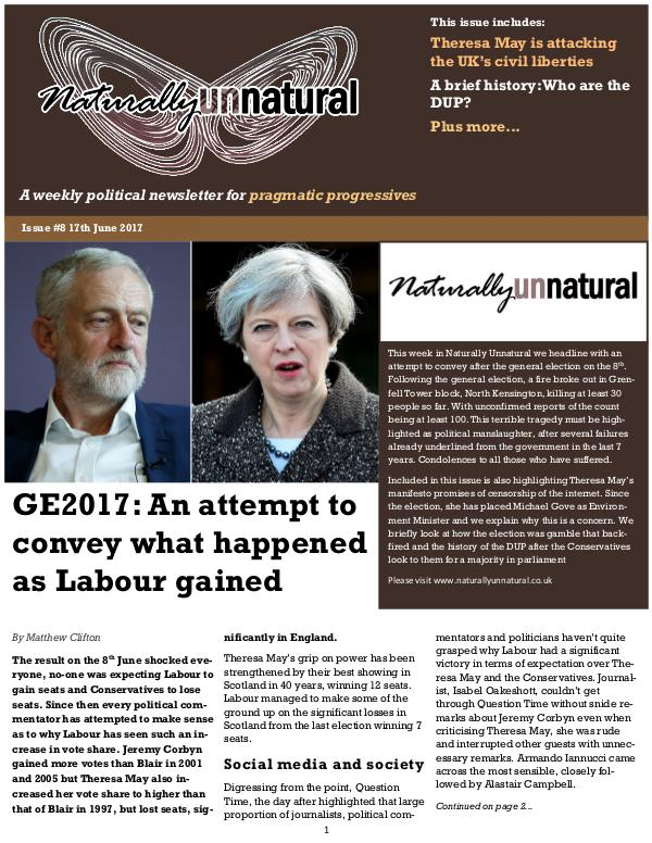 Issue #8 17th June 2017
