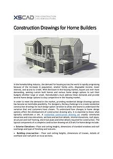 Construction Drawings for Home Builders