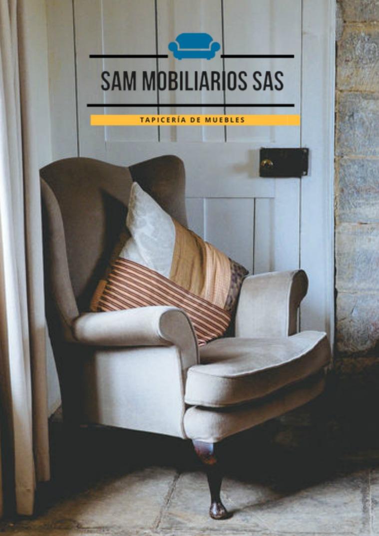 Brochure Sam Mobiliarios SAS
