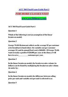 ACC 568 MART Great Stories /acc568mart.com