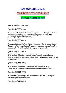ACC 576 TUTOR Great Stories /acc576tutor.com