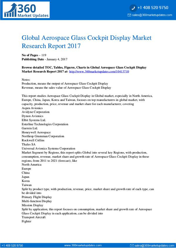 Report- Aerospace-Glass-Cockpit-Display-Market-Research-Re