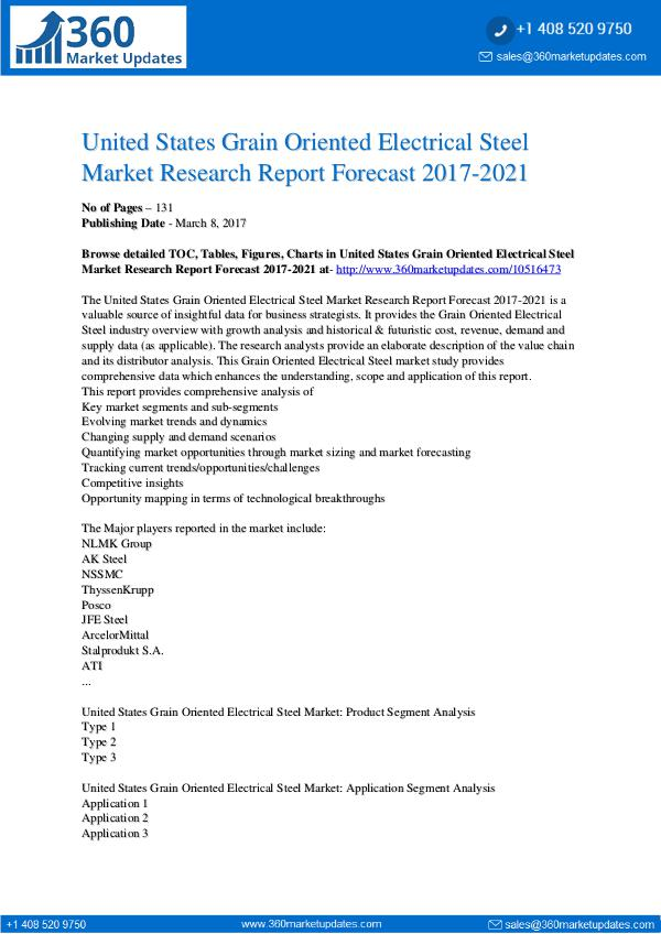 Report- Grain-Oriented-Electrical-Steel-Market-Research-Re
