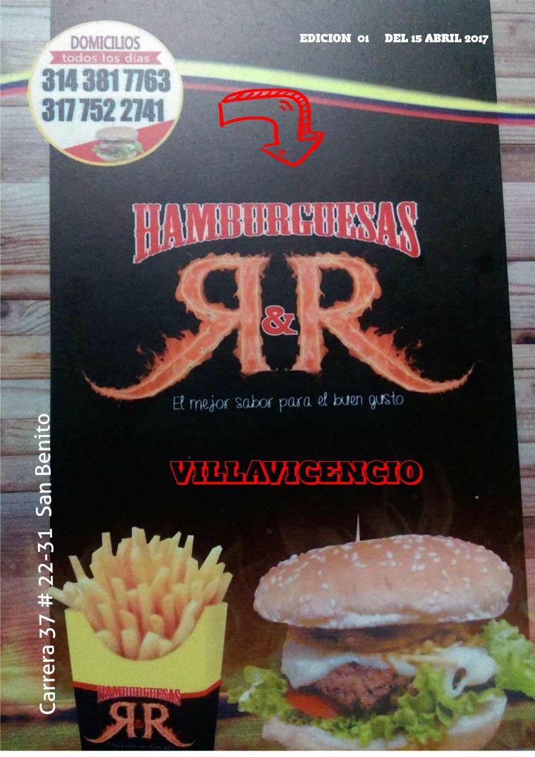 R&R HAMBURGUESAS R&R