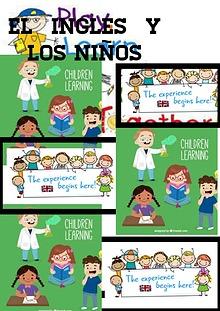 ¿Còmo mejorar el inglés en la primera infancia?